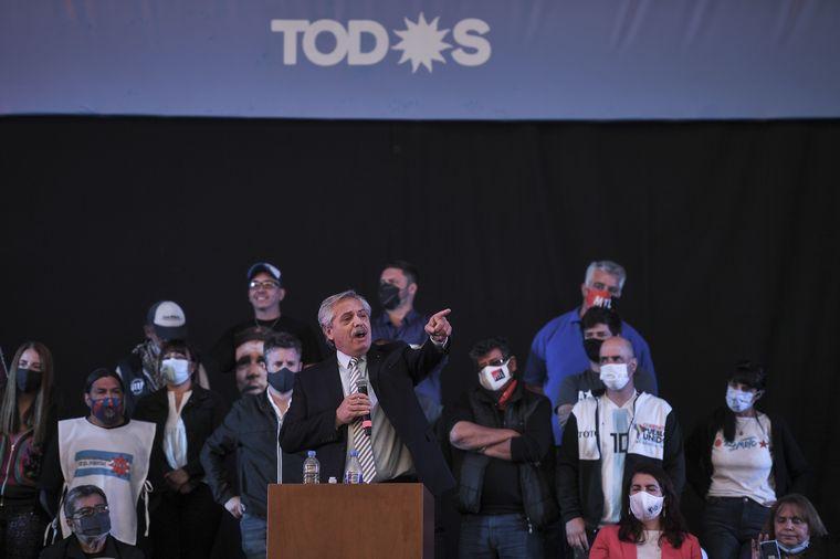 Alberto Fernández canceló el acto que el PJ tenía previsto para el 17 de octubre.
