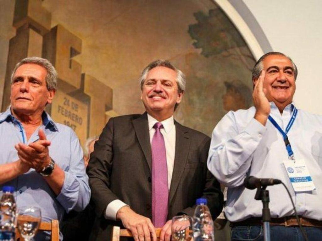 Alberto Fernández y CGT acordaron unificar las celebraciones del 17 de octubre para el próximo lunes.