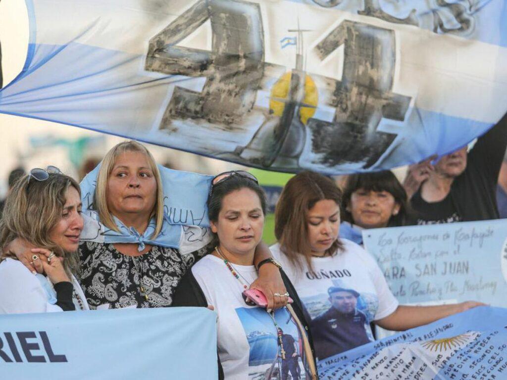 Los familiares del ARA San Juan fueron victimas del espioje ilegal.
