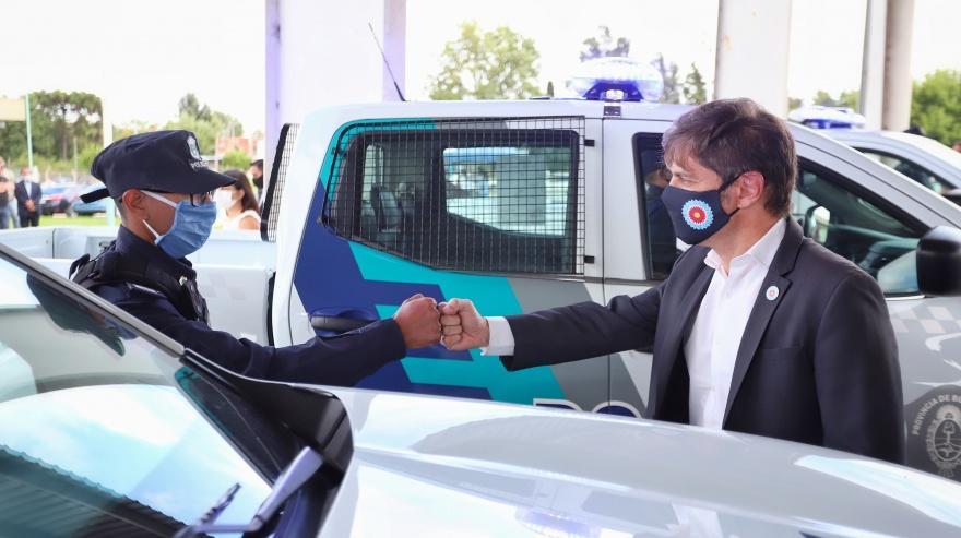 Kicillof anuncio un aumento para la Policia bonaerense.