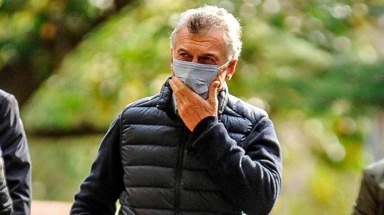 Macri se presentó en la causa por el espionaje ilegal a familiares del ARA San Juan.